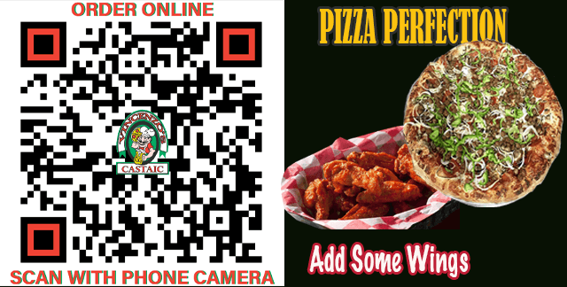 Pizza Perfection | ORDER ONLINE – SCAN CODE
