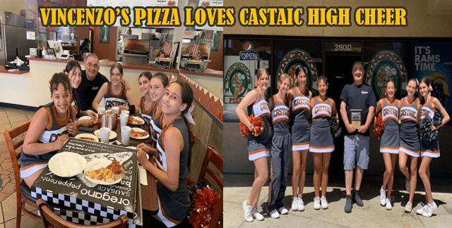 Vincenzo's Pizza Castaic Supports -Castaic High School…