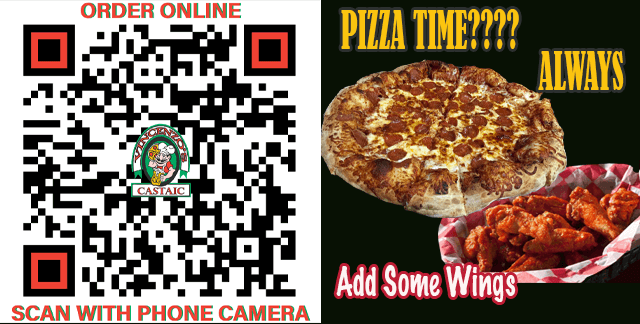 Lunch or Dinner, It's Always Pizza Time |
