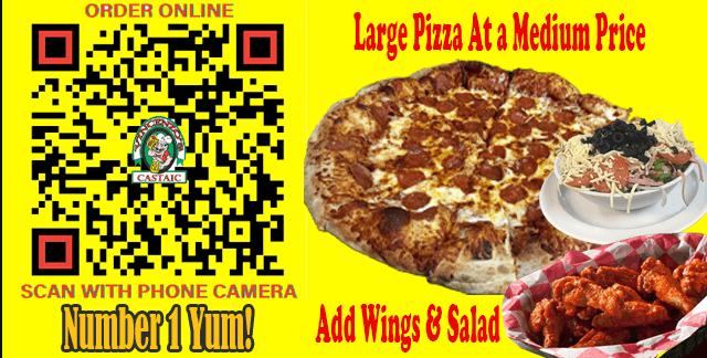 Vincenzo's Castaic    Large For a Medium Price